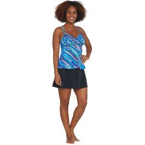 Miraclesuit Swim - DreamShaper Cara Tankini/Skort Swimsuit